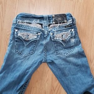 MissMe Jeans size 26 Bootcut JP5010BT♡